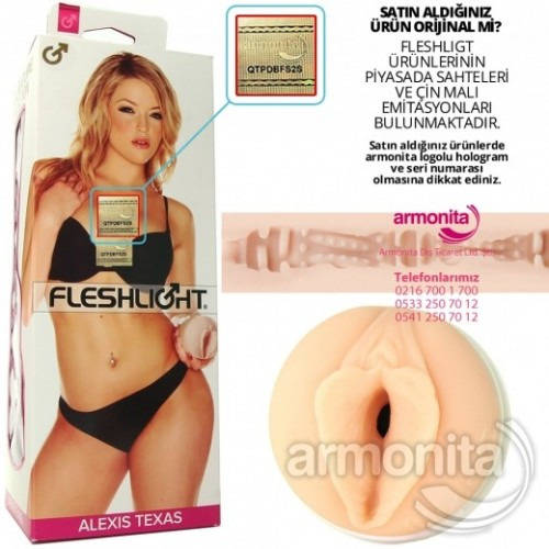 Fleshlight Girls Alexis Texas Outlaw Mastürbatör